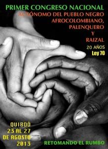 Congreso Nacional del Pueblo Negro, Afrocolombiano, Palenqueto y Raizal