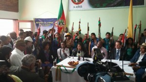 Instalación Comisión Étnica